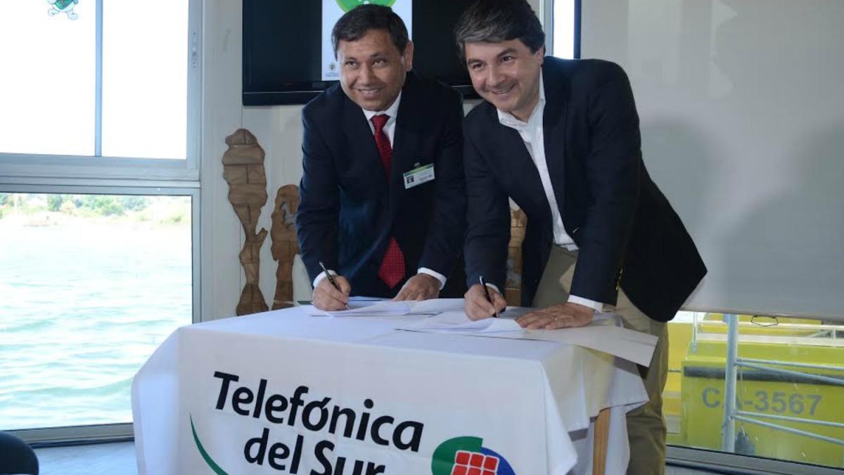 Telefónica del Sur lanza red Wifi patrimonial en la ciudad de Valdivia