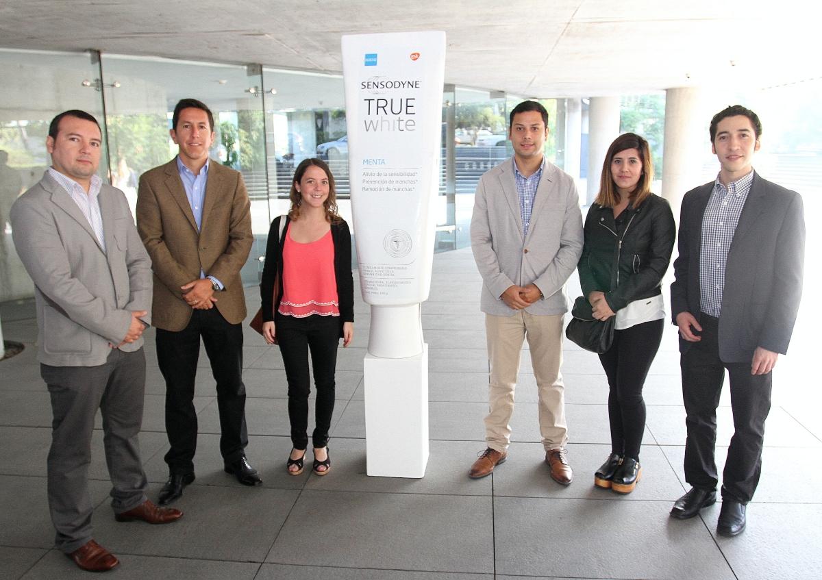 Galería: Lanzamiento de Sensodyne True White en Chile