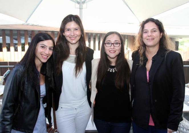 17 Genoveva Tenaillon, Carolina Guida, Daniela Torrealba y Alejandra Poli
