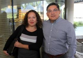 7 Susan Gutierrez y Marcial Saavedra