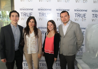 8 Francisco Pinto, Marcela Chavez, Isidora Consiglio y Sebastian Vergara