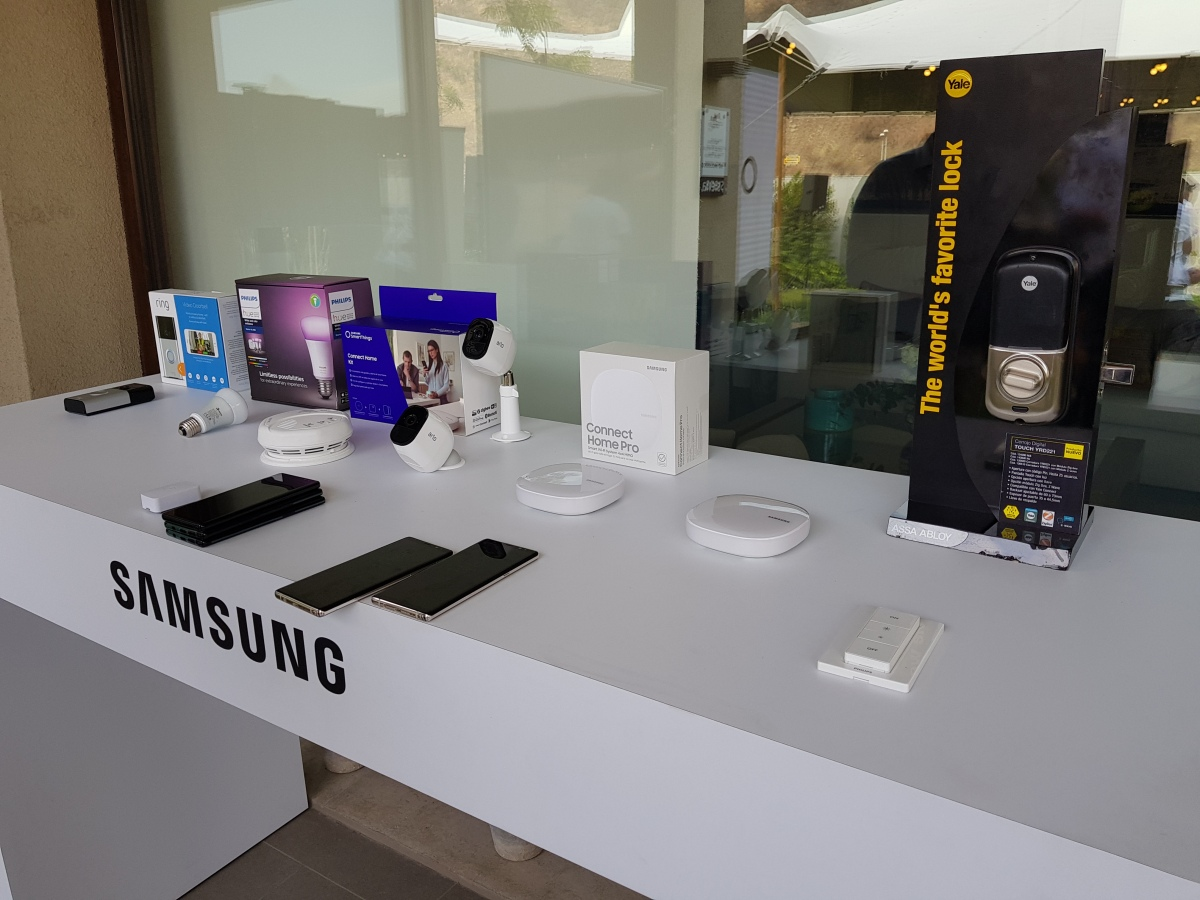 Samsung convierte en realidad la experiencia de la casa conectada con SmartThings