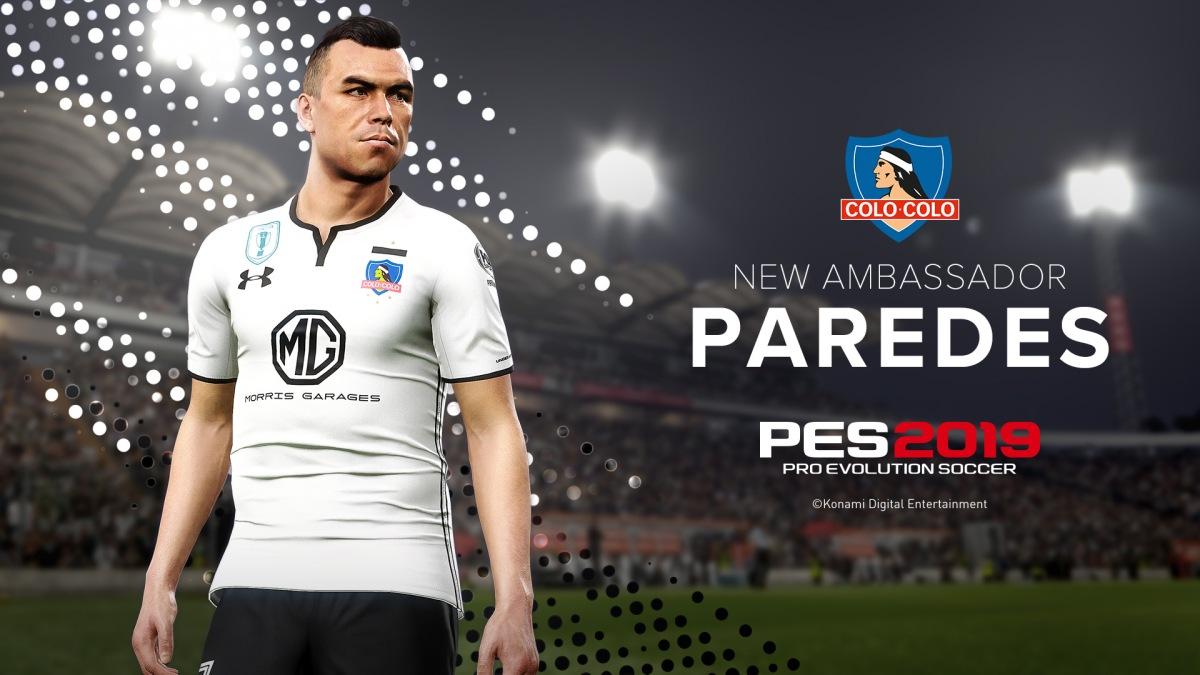 Con Paredes a la cabeza: Konami entrega detalles de PES 2019 para Chile